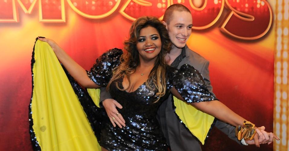 """Gaby Amarantos dançará ao lado de Bruno Galhardo na """"Dança dos Famosos 2012"""" (13/5/12)"""