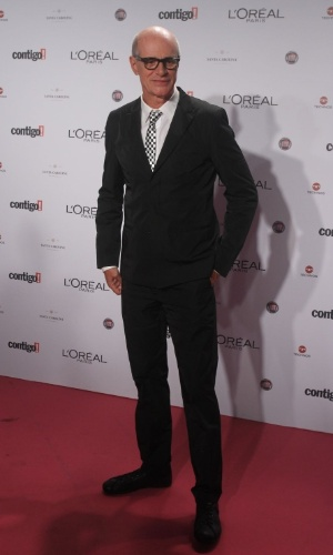 Marcos Caruso no 14º Prêmio Contigo! de TV, no hotel Copacabana Palace, no Rio de Janeiro (14/5/2012)