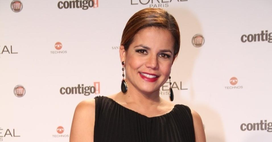 Nivea Stelmann no 14º Prêmio Contigo! de TV, no hotel Copacabana Palace, no Rio de Janeiro (14/5/2012)