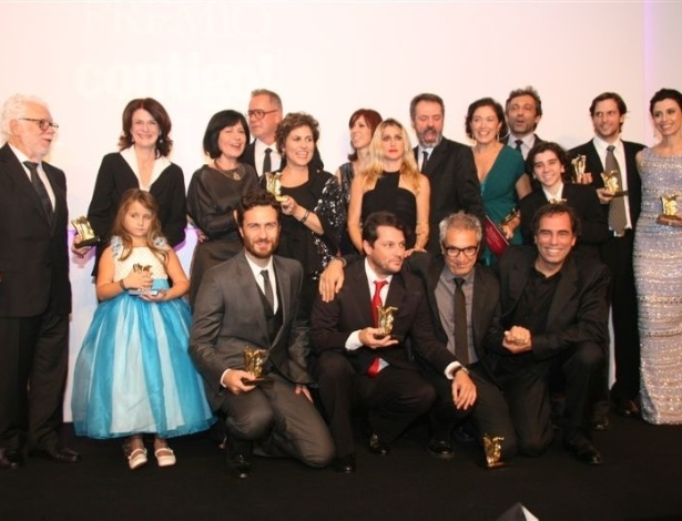 Os vencedores de todas a categorias na 14ª edição do Prêmio Contigo! de Televisão (14/5/12)