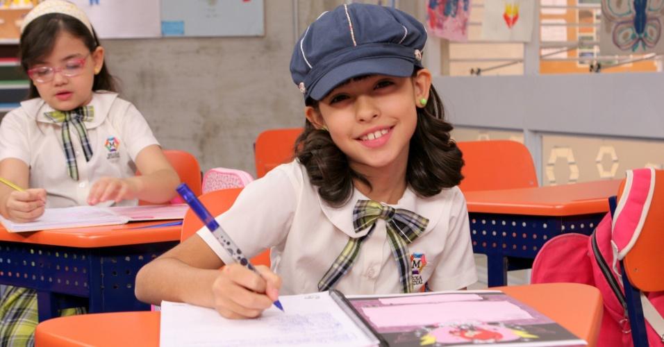 """Em """"Carrossel"""", Fernanda Concon é Alicia"""