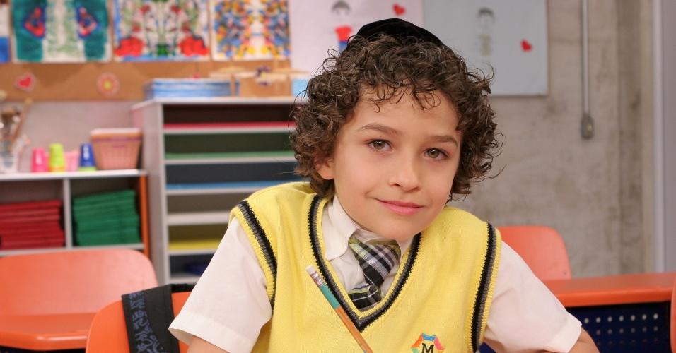"Em ""Carrossel"", Guilherme Seta é Davi Rabinovich"