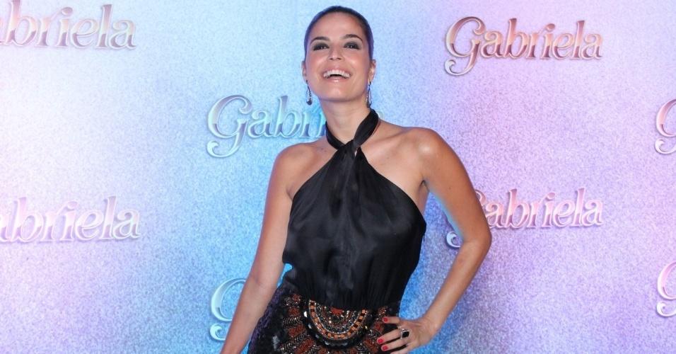 """A cantora e atriz Emanuelle Araújo será Teodora, uma das moças do cabaré Bataclã, na novela """"Gabriela""""  (21/5/12)"""