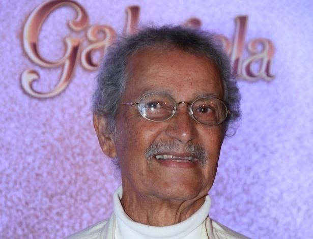 """O ator Nelson Xavier será o coronel Altino em """"Gabriela"""", prevista para estrear em 19 de junho, às 23h, na Globo (21/5/12)"""