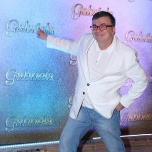 """O autor Walcyr Carrasco na apresentação de """"Gabriela"""" na Bahia (21/5/12)"""