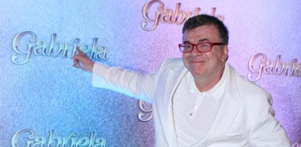 """O autor Walcyr Carrasco  na apresentação de """"Gabriela"""" na Bahia (21/5/12) - AgNews"""