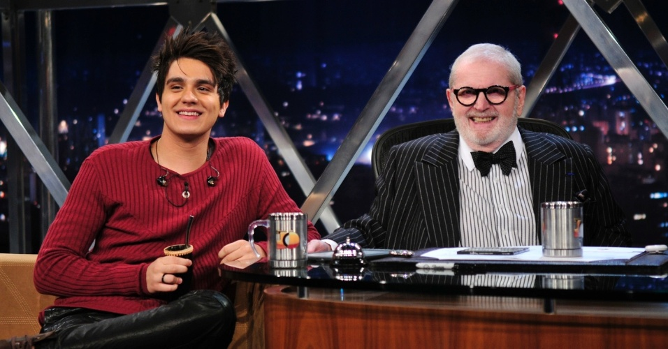 "Luan Santana no ""Programa do Jô"" (24/5/12)"