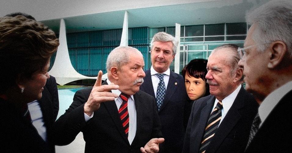 """Após a instauração da Comissão da Verdade, Nina foi lá ouvir alguns dos """"causos"""" que o ex-presidente Lula contou a seus pares"""