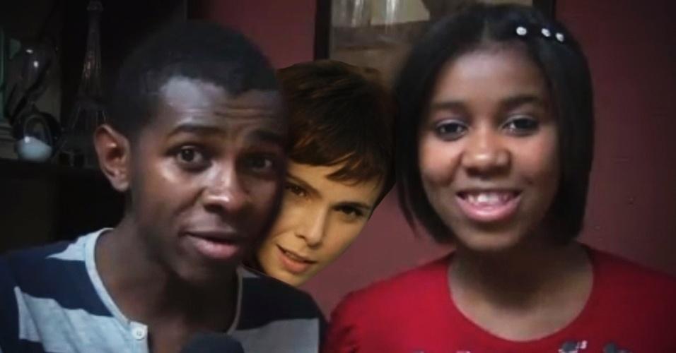 """Embora poucos saibam, Nina foi a mentora do vídeo """"Para Nossa Alegria"""""""