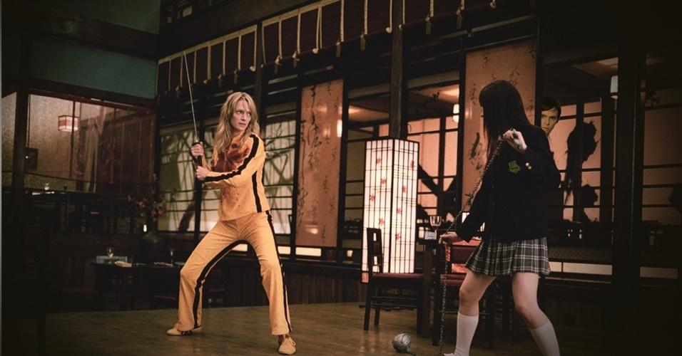 "Foi com Beatrix Kiddo (Uma Thurman), de ""Kill Bill"", que Nina aprendeu como se vingar de alguém"