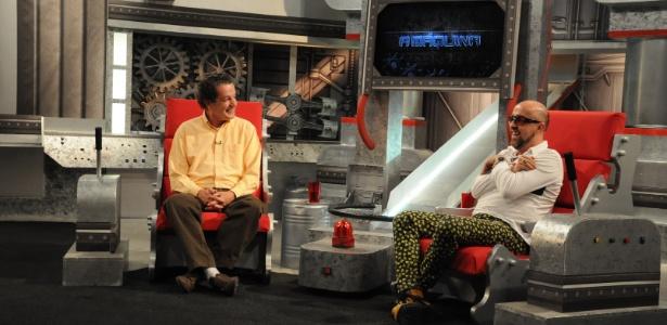 """Juca Kfouri participa do programa """"A Máquina"""", de Fabrício Carpinejar (31/05/2012)"""