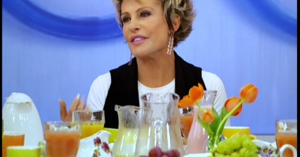 Ana Maria Braga apresenta suas convidadas