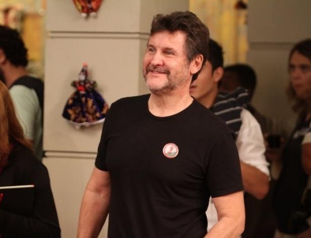 "O ator Antonio Calloni participa do workshop para a novela ""Salve Jorge"" (6/6/12). O encontro aconteceu no Projac, zona oeste do Rio"