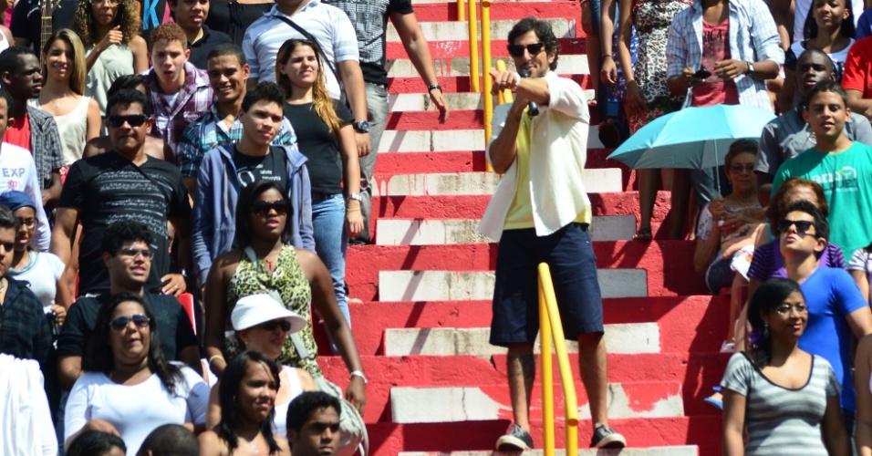 Marcos Mion estreia como apresentador do reality show Ídolos 2012