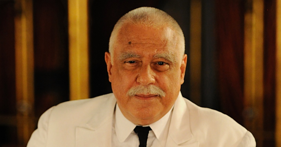 """Antonio Fagundes é Coronel Ramiro Bastos em """"Gabriela"""" (12/6/12)"""