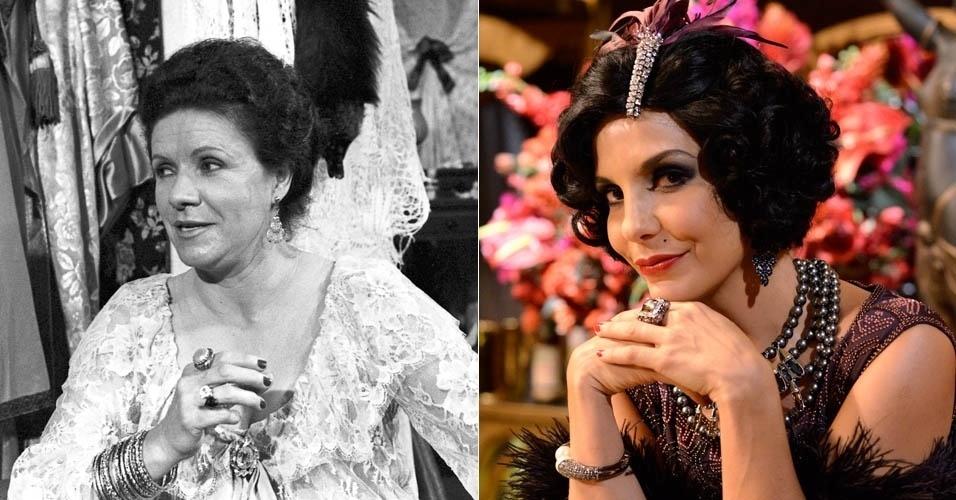"""Da esquerda para a direita, Eloísa Mafalda e Ivete Sangalo em cena de """"Gabriela"""""""