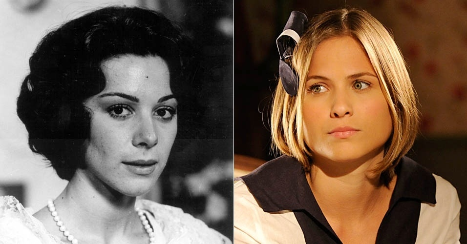 """Da esquerda para a direita, Nívea Maria e Luiza Valdetaro em cena de """"Gabriela"""""""