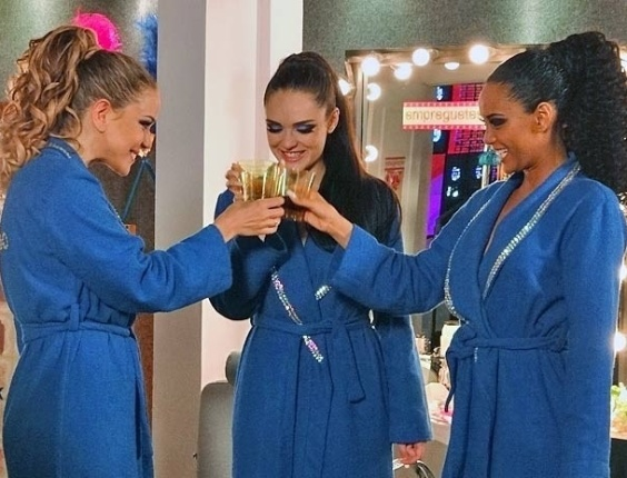 "Leandra Leal, Isabelle Drummond e Taís Araújo em cena de ""Cheias de Charme"" (14/6/2012)"