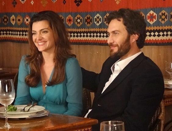 """Rodrigo (Gabriel Braga Nunes) e Elisa (Mayana Neiva) em cena de """"Amor Eterno Amor"""" (18/6/12)"""