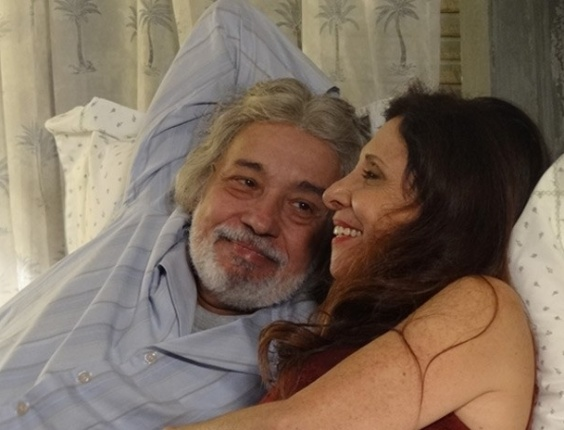 """Pedro Paulo Rangel e Vera Mancini em cena de """"Amor Eterno Amor"""" (19/6/2012)"""