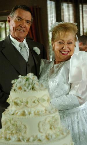 """Suely Franco e John Herbert em cena de """"Sete Pecados"""" (2007)"""