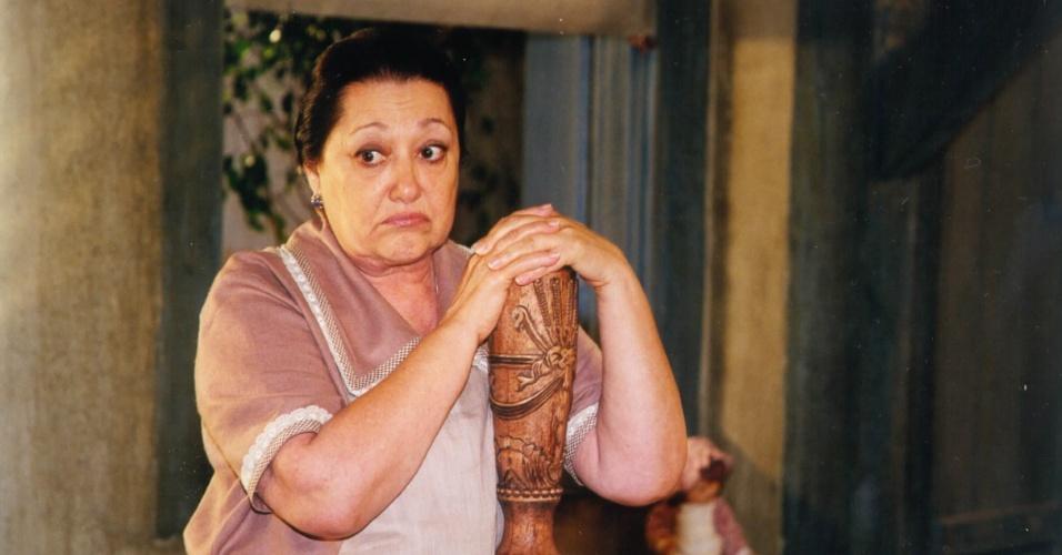 """Suely Franco em cena de """"O Cravo e a Rosa"""" (2000)"""