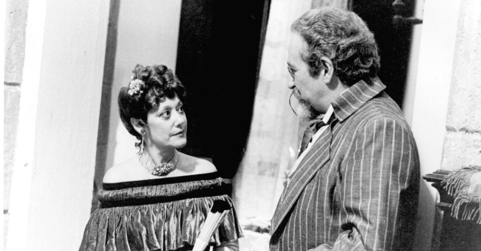 """Suely Franco em cena de """"O Tempo e o Vento"""" (1985)"""