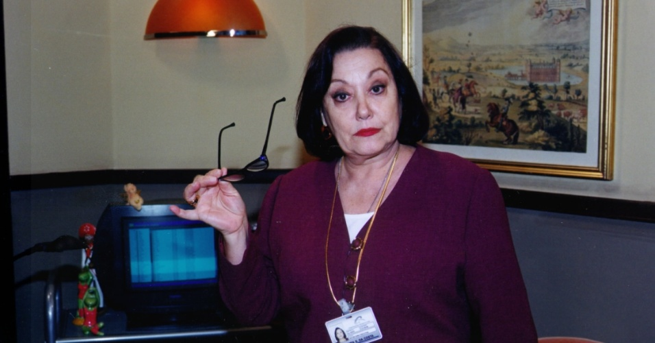 "Suely Franco em cena de ""Pecado Capital"" (1998)"