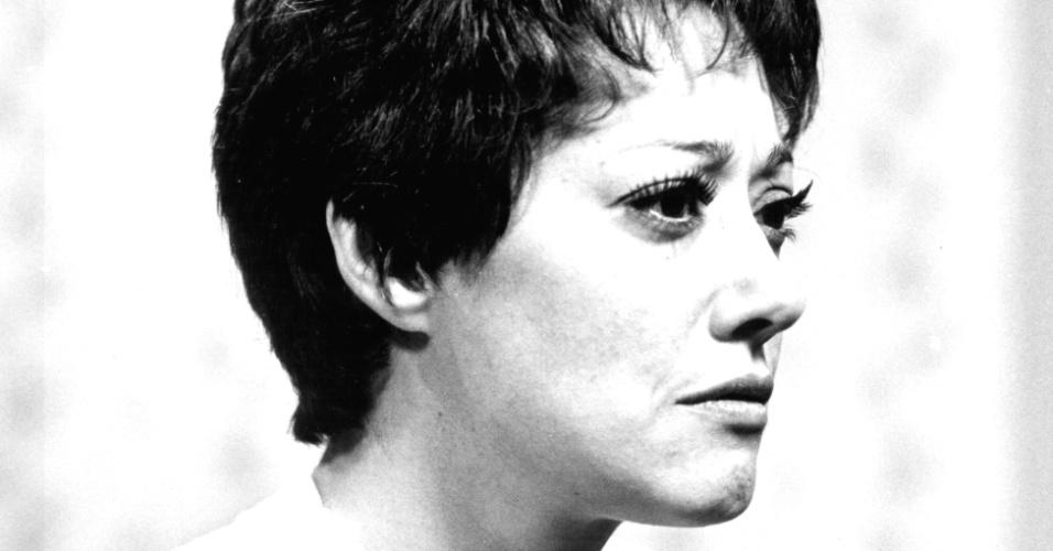 """Suely Franco na pele da personagem Laís de """"O Grito"""" (1975)"""