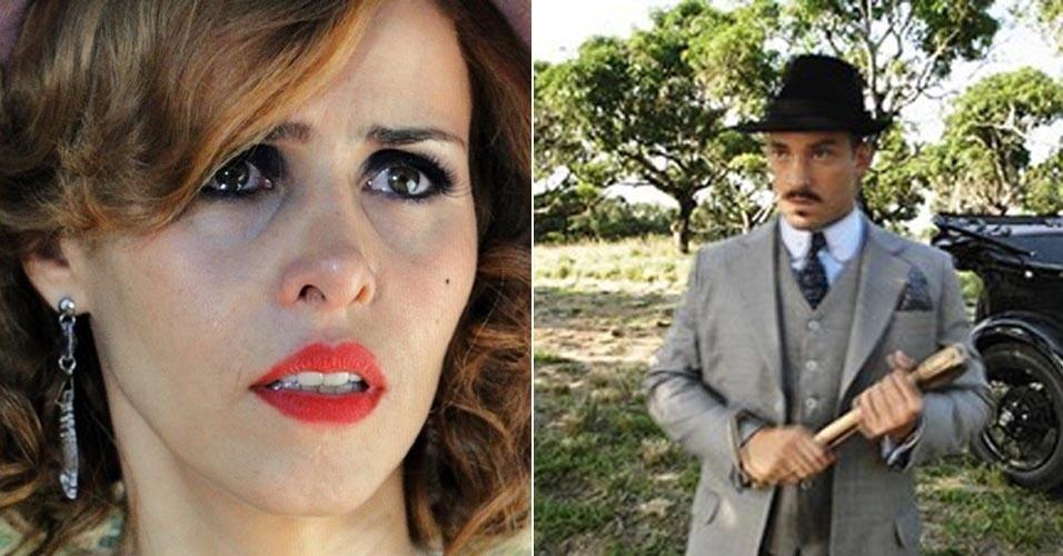"""Em """"Gabriela"""", Berto ameaça dar uma surra de chicote em Zarolha (22/6/12)"""