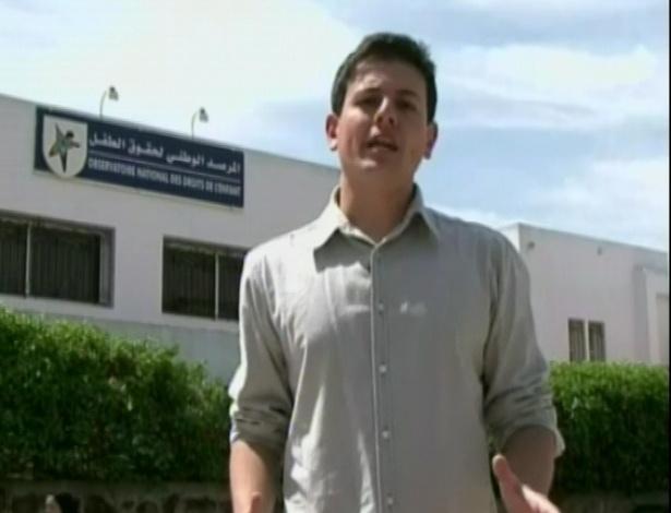 O jornalista Thiago Crespo mostrou para o público como funciona o sistema de adoção no Marrocos (25/6/12)