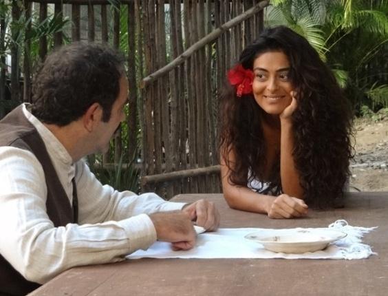 """Em """"Gabriela"""", vida de Nacib e Gabriela muda após primeira noite de amor"""