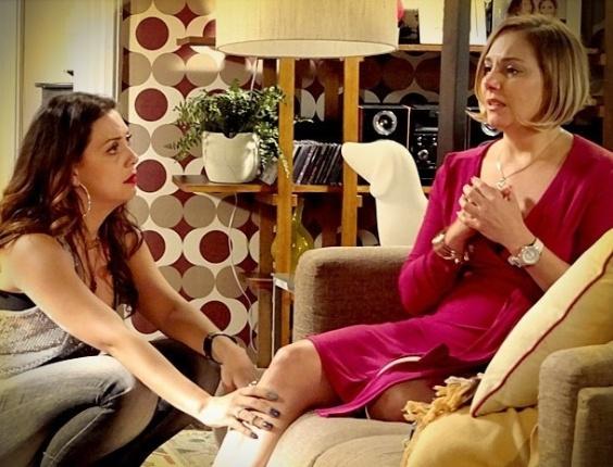 """Em """"Avenida Brasil"""", Monalisa diz a Olenka que quer ter um filho de Silas (2/7/12)"""