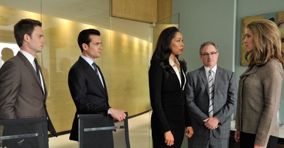 """Cena da primeira temporada da série de televisão """"Suits"""""""