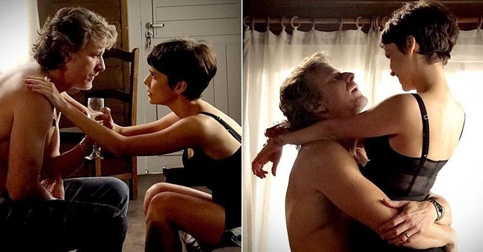 """Em """"Avenida Brasil"""", Nina dopa Max e faz o vilão confessar caso antigo com Carminha"""