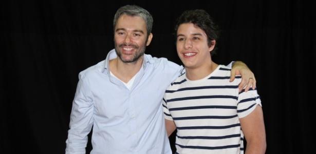 """Ângelo Paes Leme e Ricky Tavares participaram do workshop para a minissérie """"José - De Escravo a Governador"""" (9/7/12)"""