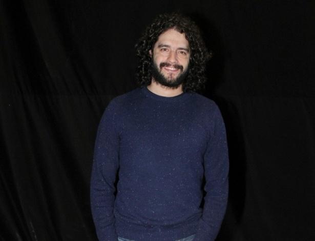 """O ator Guilherme Winter participou do workshop para a minissérie """"José - De Escravo a Governador"""" no RecNov, complexo de estúdios da Record, no Rio (9/7/12)"""