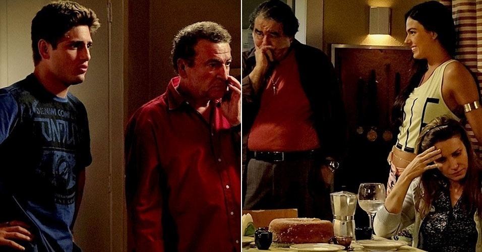 """Em """"Avenida Brasil"""", Roni descobre que Dolores é sua mãe e diz que preferia que ela estivesse morta (16/7/12)"""