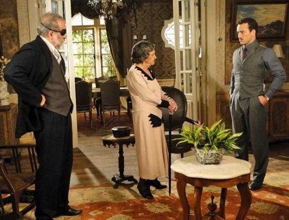 Doreotéia descobre quer Berto dormiu com Lindinalva e diz que ele não se casará mais com a moça (19/7/12)