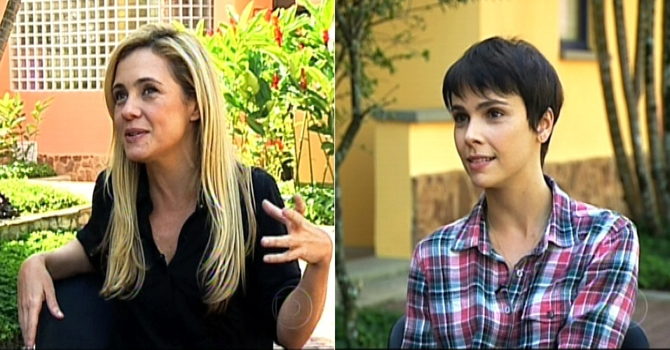 Adriana Esteves e Débora Falabella falam ao