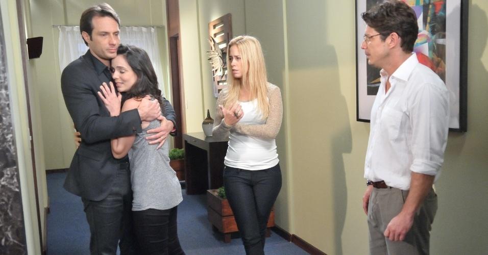 """Em """"Máscaras"""", Décio diz que Maria ainda precisa de tratamento (26/7/12)"""