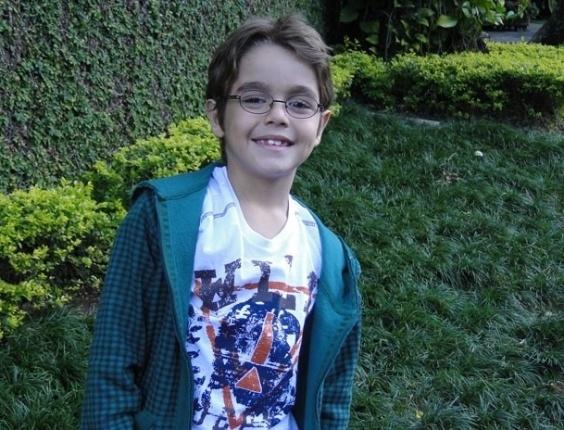 """Xande Valois tem 7 anos e é o caçula do elenco da nova """"Malhação"""" (26/7/12)"""