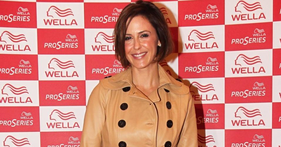 Guilhermina Guinle no lançamento de produtos da Wella (19/6/12)