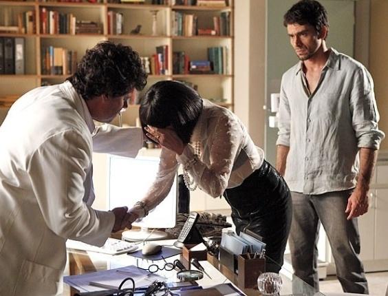Melissa vai ao consultório de Gabriel, e Zenóbio aparece mais uma vez (31/7/12)