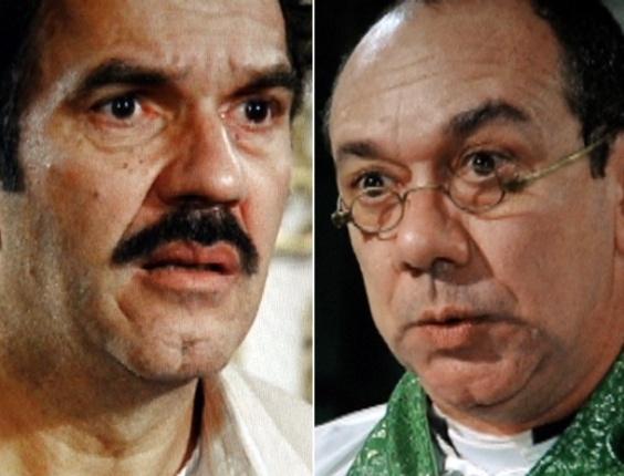 """Em """"Gabriela"""", padre Cecilio se recusa a casar Nacib e Gabriela (31/7/12)"""