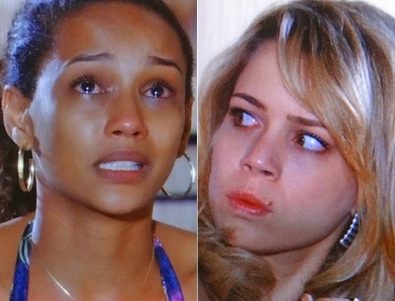 """Em """"Cheias de Charme"""", Penha resolve voltar antes para o Rio e Rosário não gosta nada da ideia (7/8/12)"""