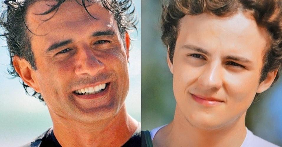 """Em """"Cheias de Charme"""", Samuel reencontra o pai (7/8/12)"""