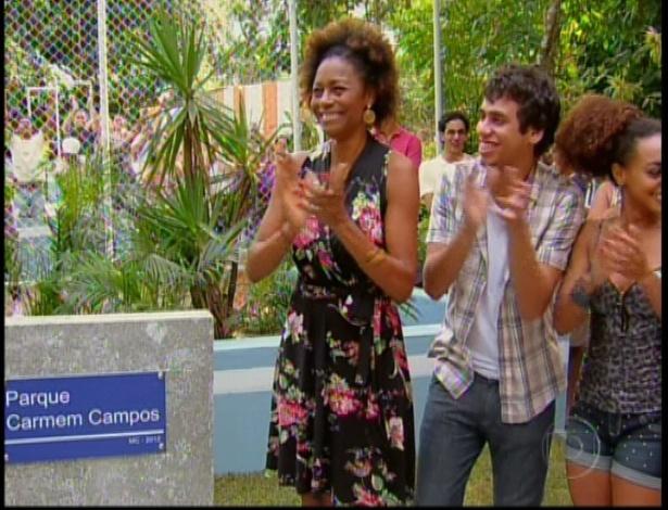 Aparecida inaugura o Parque Carmem Campos na comunidade dos Anjos