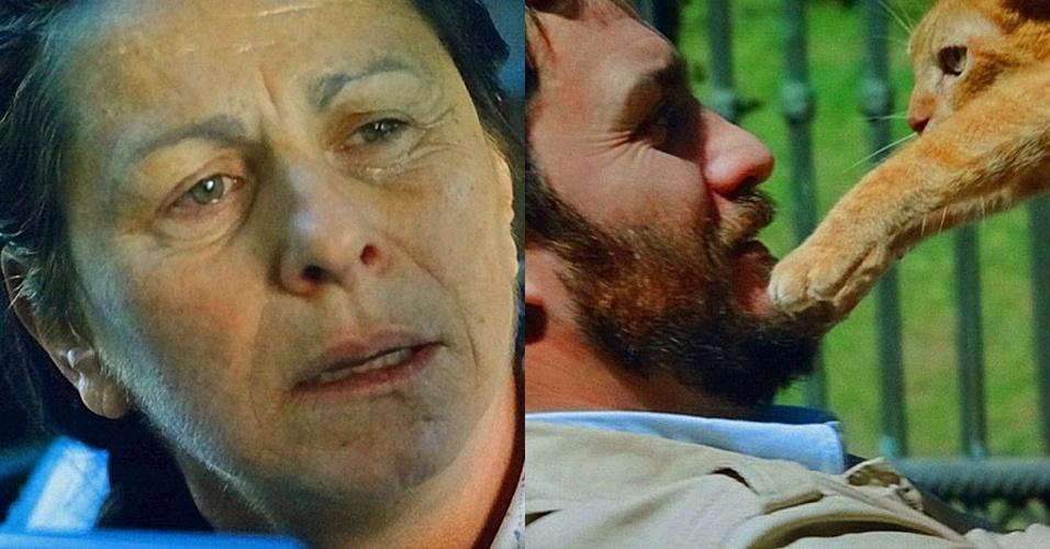 """Em """"Amor Eterno Amor"""", Angélica revê Rodrigo e decide não revelar para ele que está viva (13/8/12)"""