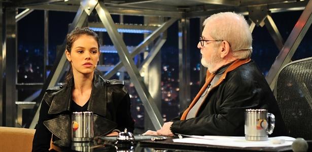 "A atriz Laura Neiva estará no ""Programa do Jô"" desta sexta-feira (17)"